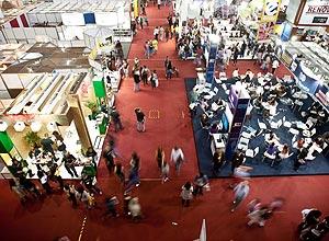 Movimentação da 21ª Bienal Internacional do Livro de Sao Paulo (Foto: Leticia Moreira/Folhapress)