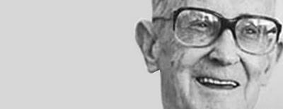 O autor mineiro Carlos Drummond de Andrade