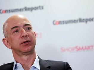 Empresa de Jeff Bezos quer driblar problemas de logística oferecendo conteúdo totalmente digital (Foto: Getty IMages)