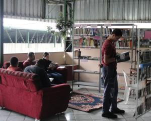Leitores do projeto Biblioteca-Itinerante de Ubá