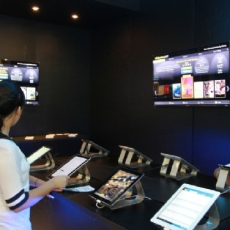 Bienal Internacional do Livro 2012: E-books devem ganhar espaço nos próximos anos devido aos tablets (Foto: Paulo Bareta)