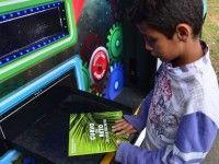 Máquina de Livros (Foto: Reprodução)