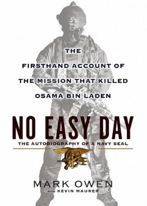 """Capa do livro """"No Easy Day"""" (Foto: Reprodução)"""