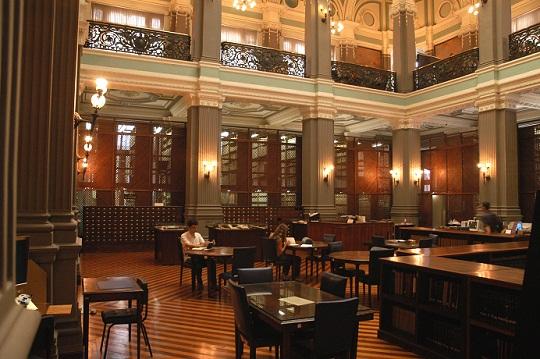 Biblioteca Nacional: entre as sete maiores do mundo (Foto: Reprodução)