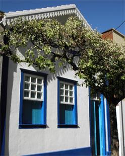 Espaço dos Anjos foi instalado na casa onde o escritor Augusto dos Anjos morou em Leopoldina, na Zona da Mata Mineira (Foto: UAI/Divulgação)