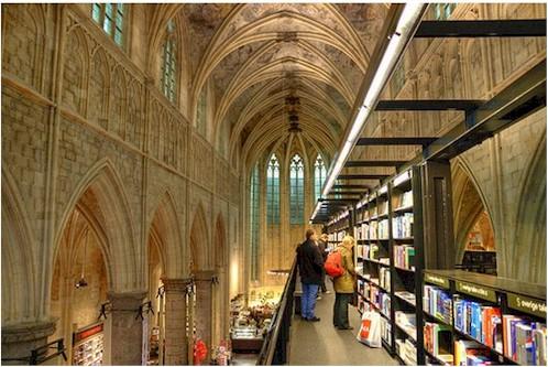 Livraria Selexyz, em Maastricht (Foto: Reprodução)
