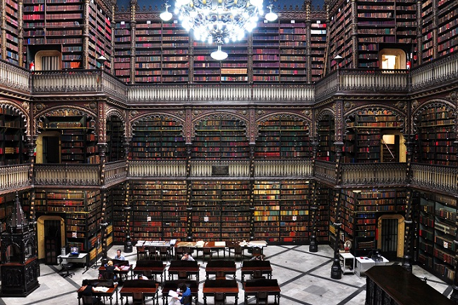 Real Gabinete de Leitura (Foto: Reprodução)