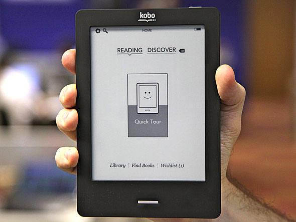 Kobo Touch: com tela de 6 polegadas e apenas 185 gramas, e-reader da Livraria Cultura será vendido por 399 reais