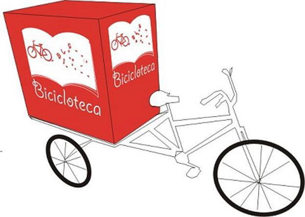 Bicicloteca (Foto: Estadão)