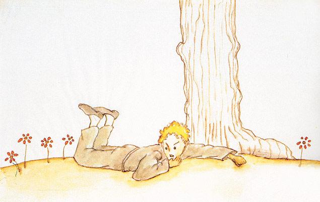 """Ilustração do livro """"O Pequeno Príncipe"""" (Foto: Reprodução)"""