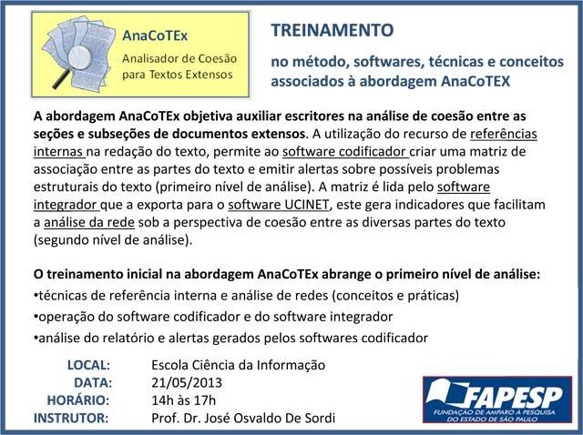 Treinamento AnaCoTEx