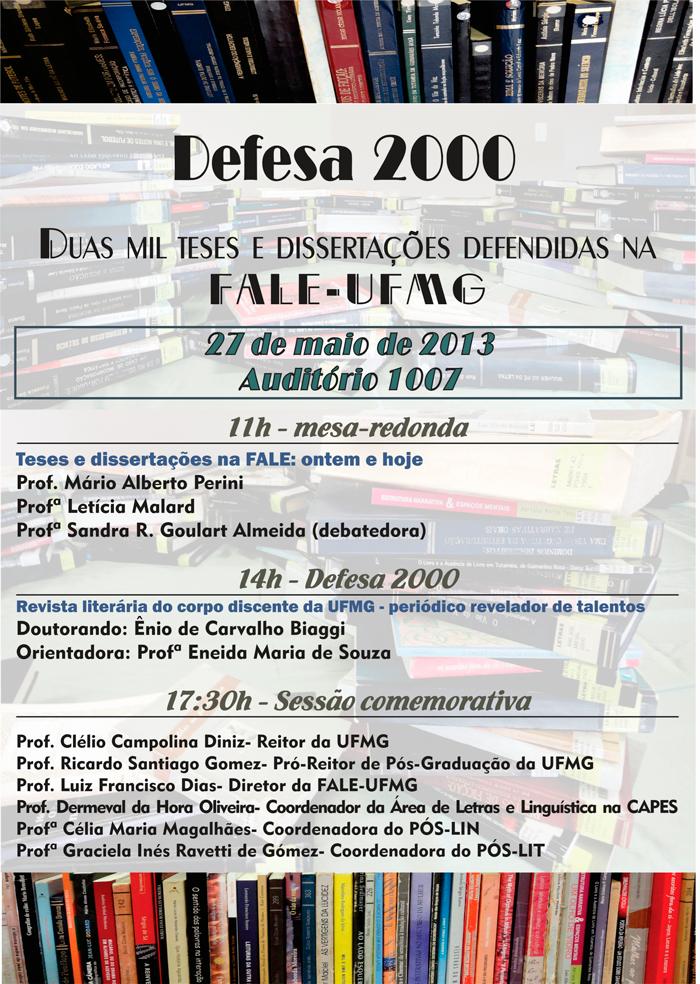 2000 teses e dissertações