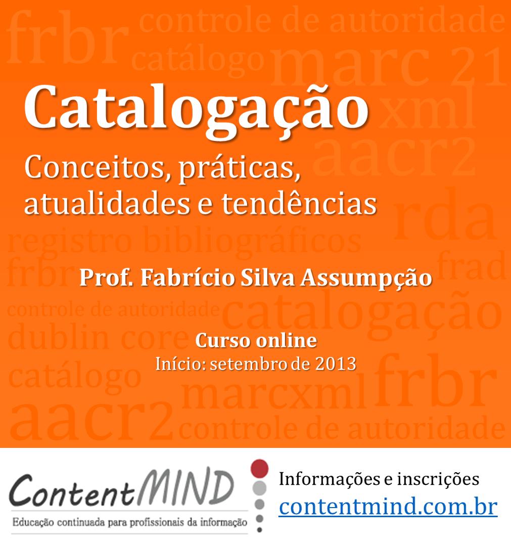 Catalogação conceitos, práticas, atualidades e tendências