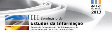III Seminário de Estudos da Informação