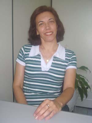Margarita Torres, coordenadora do curso de Biblioteconomia do UNIFOR