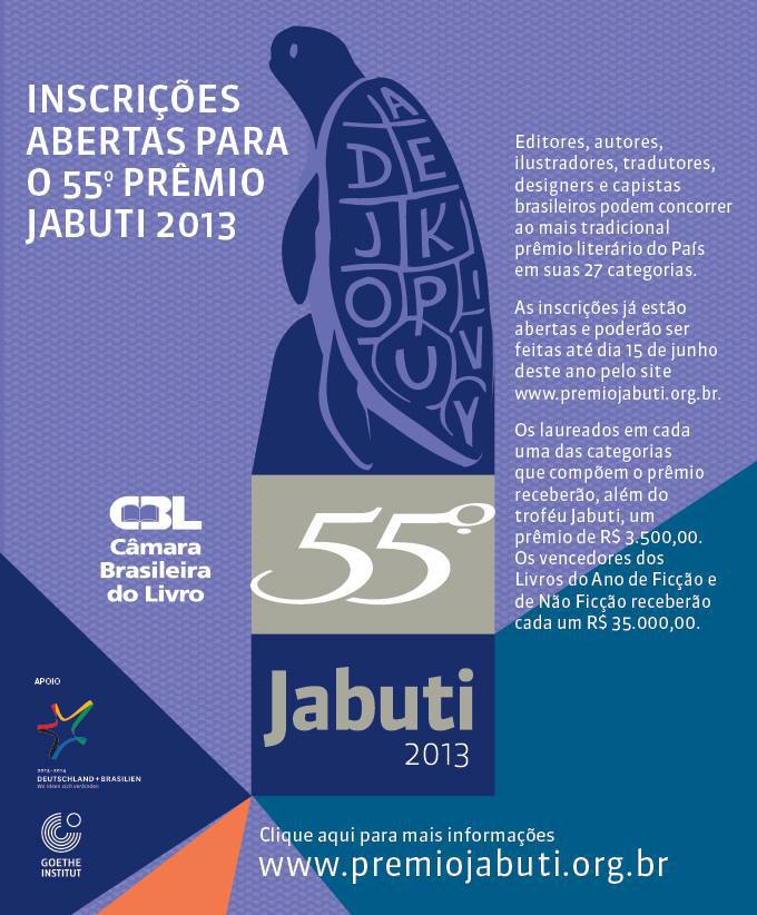 55º Prêmio Jabuti 2013