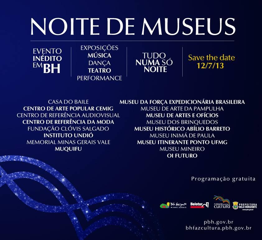 Noite de Museus