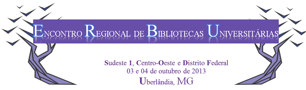 ERBU - Encontro Regional de Bibliotecas Universitárias
