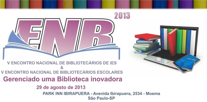 V Encontro Nacional de Bibliotecários
