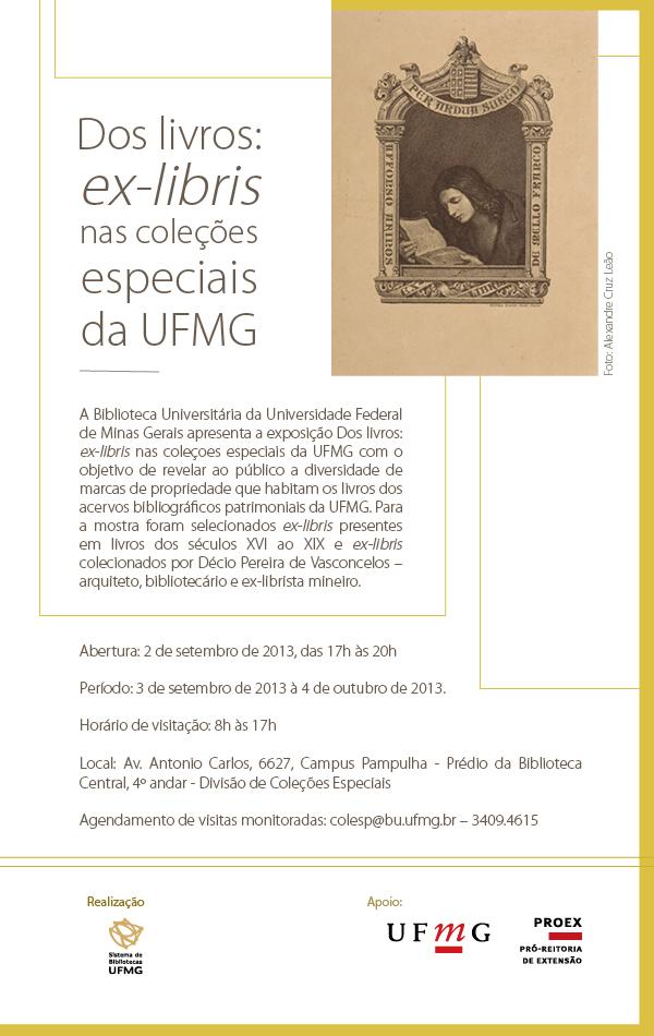 Dos livros ex-libris nas coleções especiais da UFMG