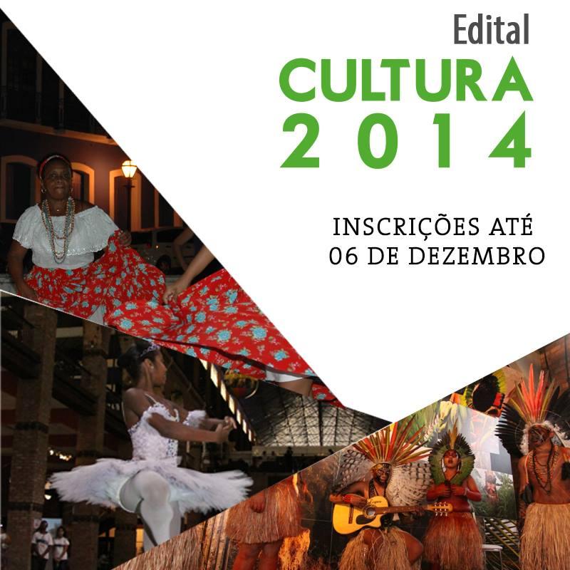 Edital Cutura 2014