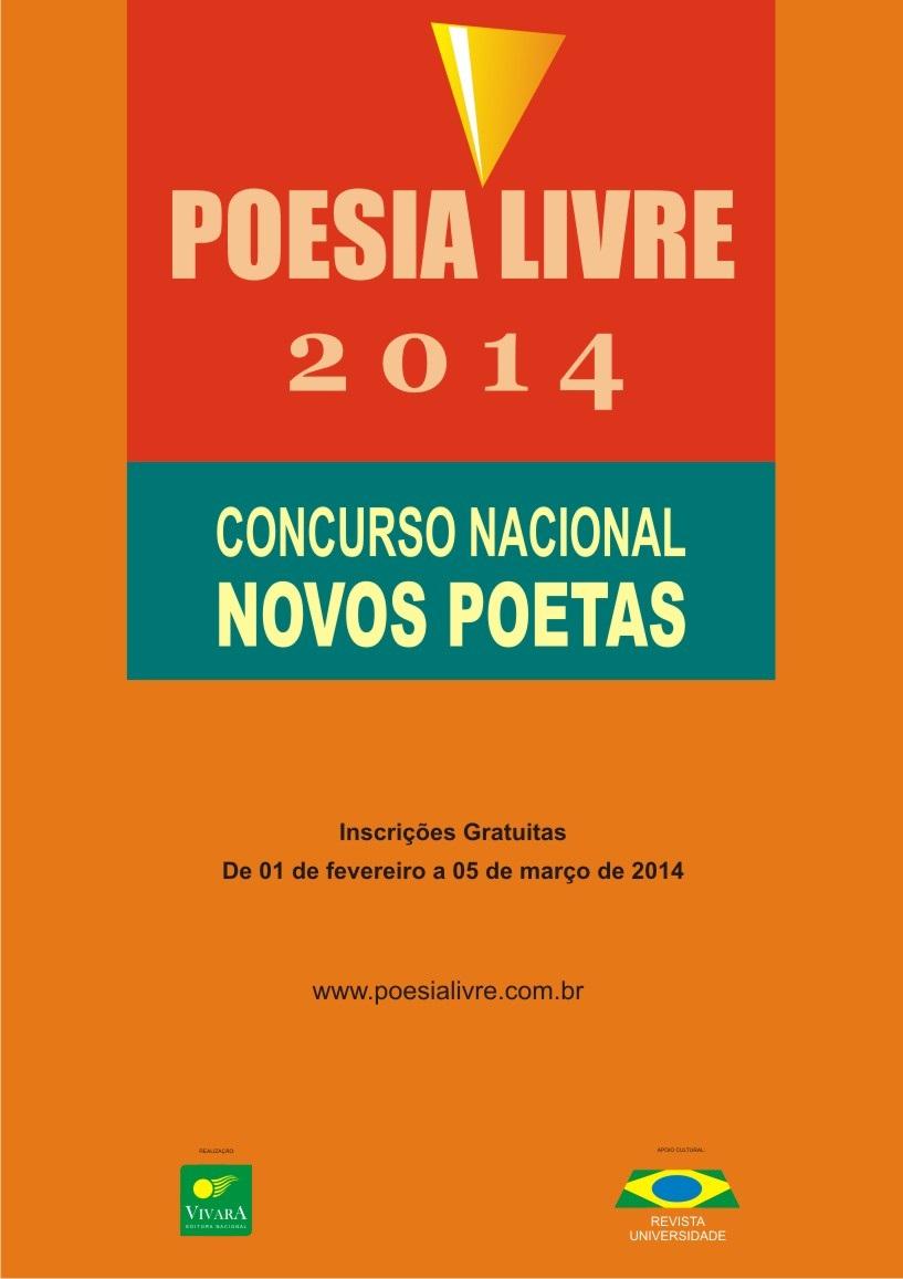 Prêmio Poesia Livre 2014