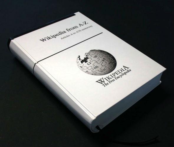 Se impressa, versão em inglês da Wikipedia caberia em estante de 10 metros de largura por 2,5 metros de altura. (Foto: Reprodução)