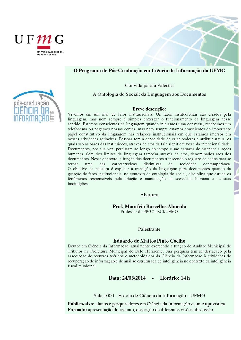 A Ontologia do Social da Linguagem aos Documentos