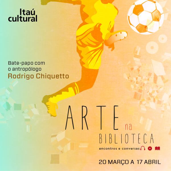 Arte na Biblioteca Futebol
