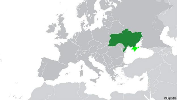 Editora americana decide não mudar mapa da Ucrânia em livros didáticos (Foto: Reprodução)
