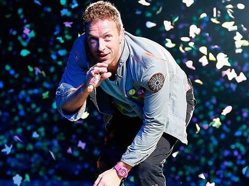 O cantor Crhis Martin, da banda Coldplay (Foto: Reuters)