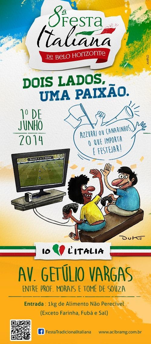 8ª Festa Italiana de Belo Horizonte