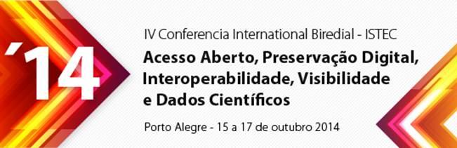 Conferência Internacional Biredial-Istec