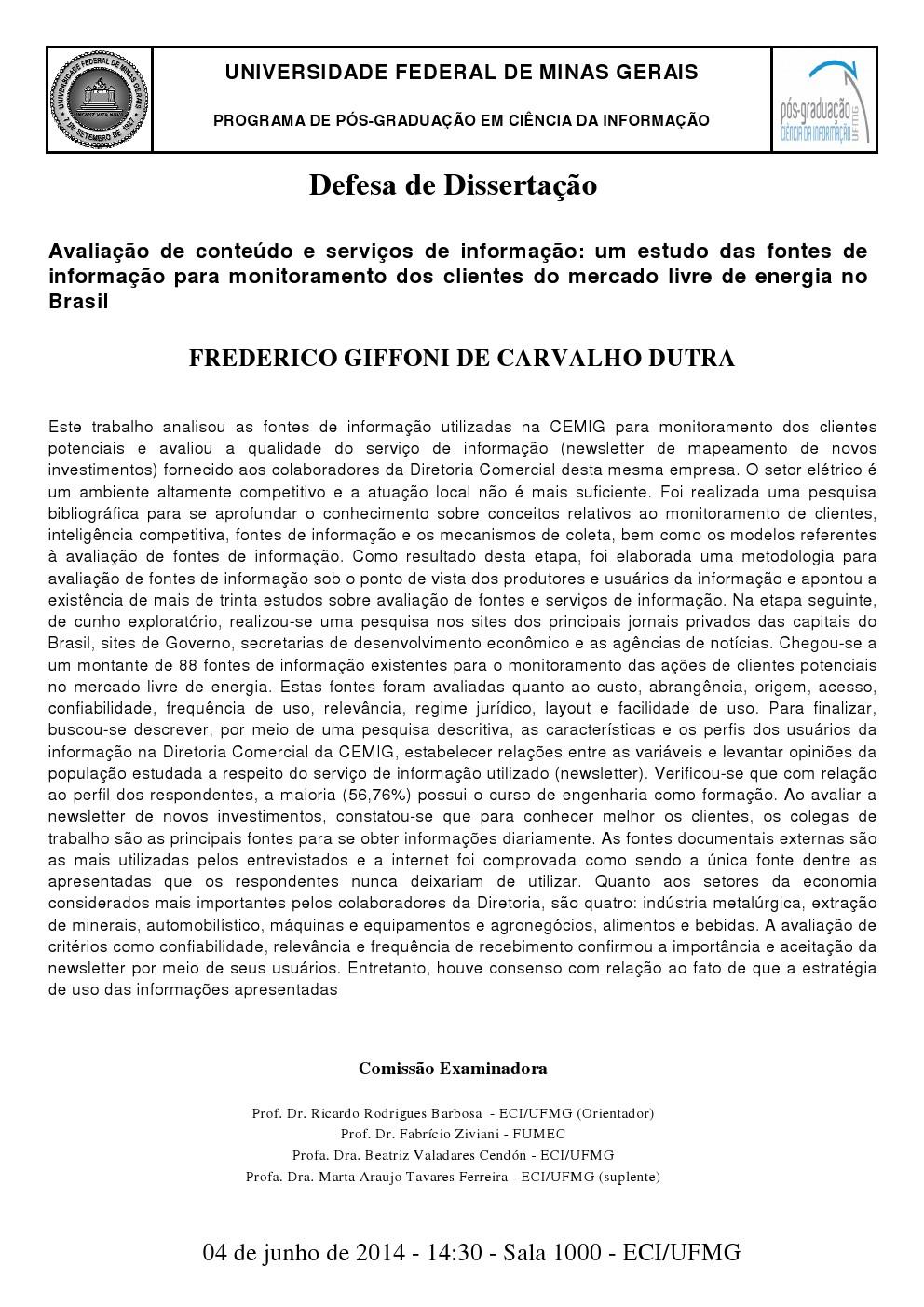Frederico Giffoni de Carvalho Dutra