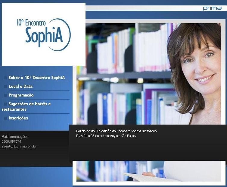10ª edição do Encontro SophiA Biblioteca
