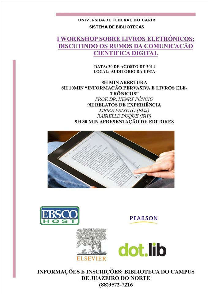I Workshop sobre livros eletrônicos