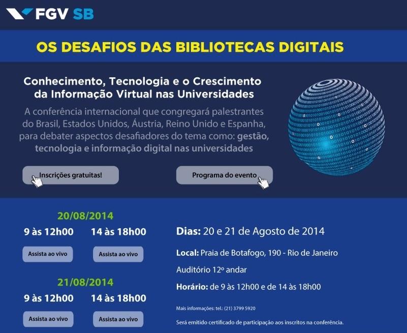 Os desafios das bibliotecas digitais