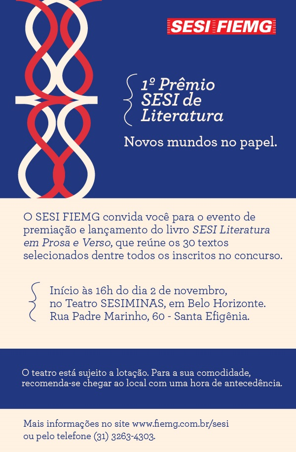 1° Prêmio SESI de Literatura