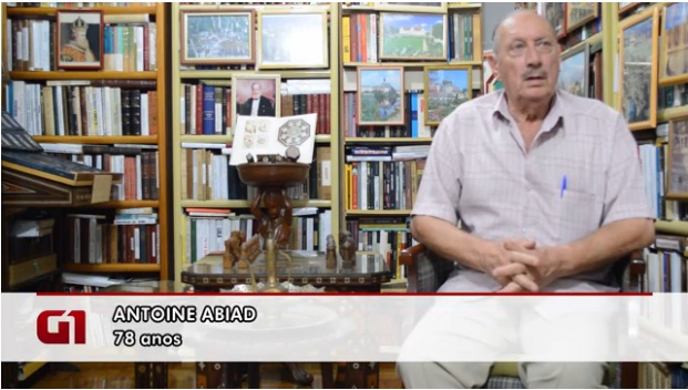 Sr. Antoine Abdid (Foto: Reprodução TV Globo)
