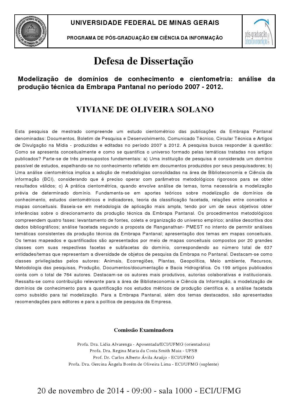 Dissertação Viviane de Oliveira Solano