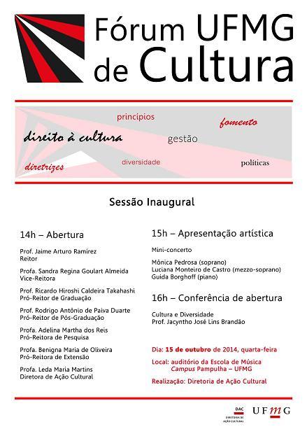 Fórum UFMG de Cultura
