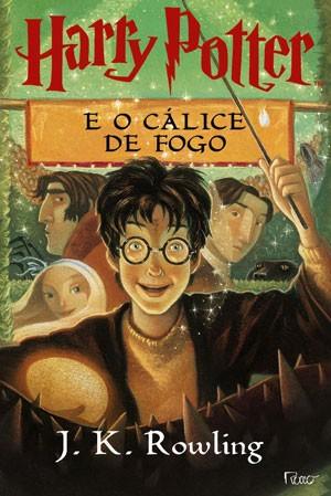 Livro 'Harry Potter e o Cálice de Fogo', de J.K. Rowling. (Foto: Divulgação)