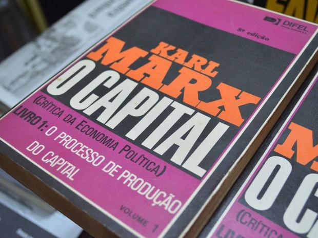 Para Antoine, Karl Marx pensava como Jesus Cristo (Foto: Guilherme Lucio/G1)