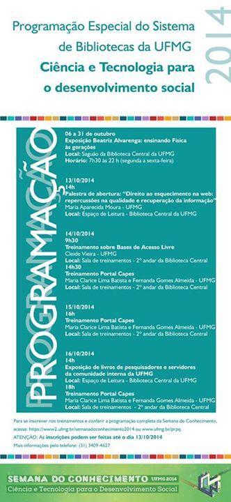 Semana do Conhecimento UFMG