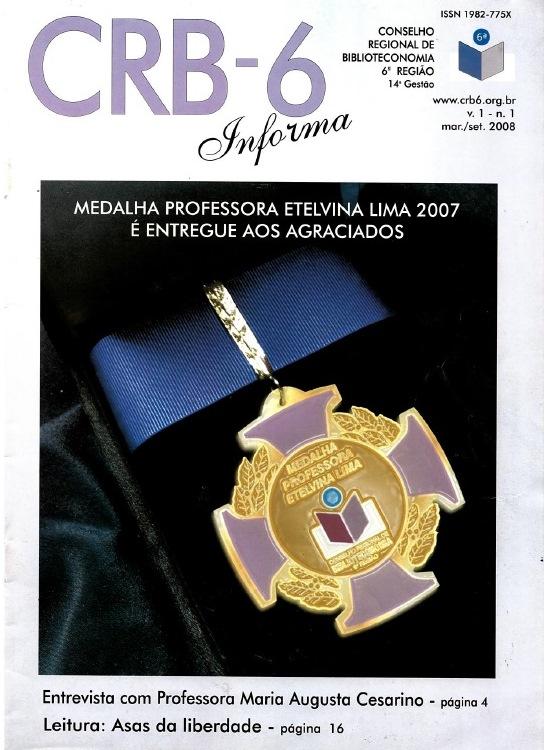 CRB-6 2008 v.1 n.1