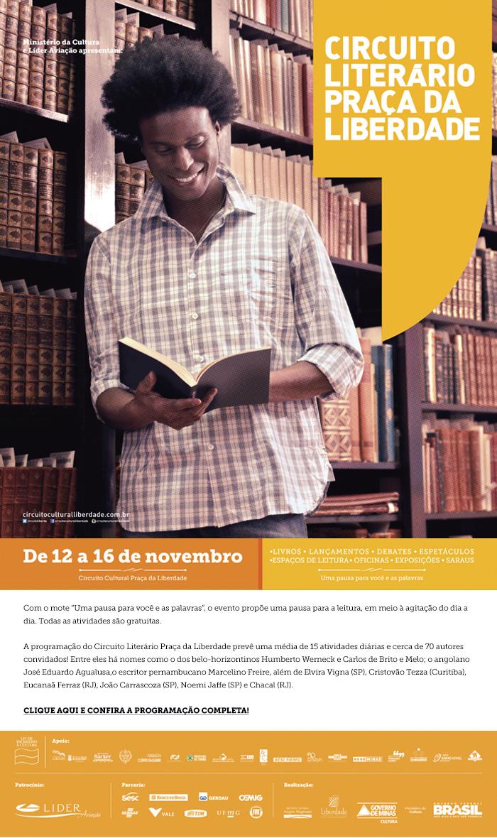 Circuito Literário Praça da Liberdade