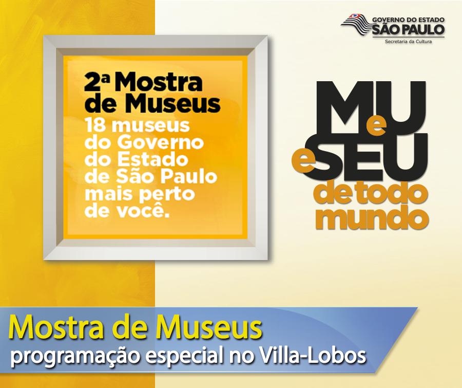 Mostra de Museus da Secretaria da Cultura