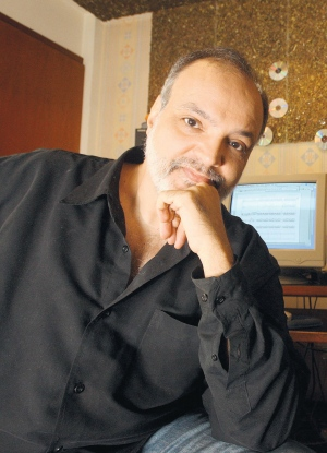 Compositor. Andersen Viana frisa que o projeto da biblioteca digital de músicas contempla mais (Foto: Reprodução)