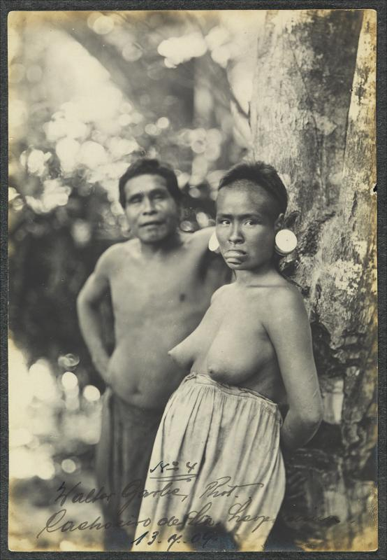 Indios botocudos