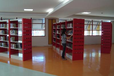 Novo Layout do Espaço de Leitura da Biblioteca Central da UFMG. (Foto: Divulgação)